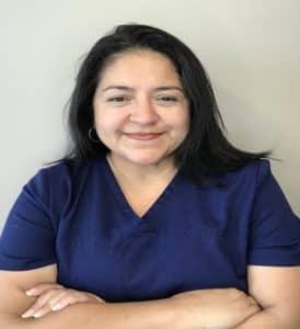 Gina Villa scheduler Dr. Matthew Eidem