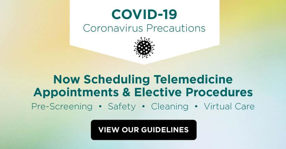 coronavirus precaution guidelines popup image